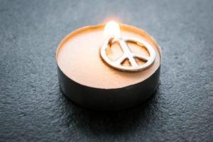 La pau és l'únic camí per la nostra societat